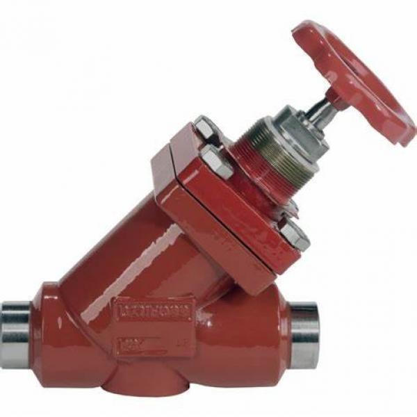 Danfoss Shut-off valves 148B4601 STC 15 A ANG  SHUT-OFF VALVE HANDWHEEL #2 image