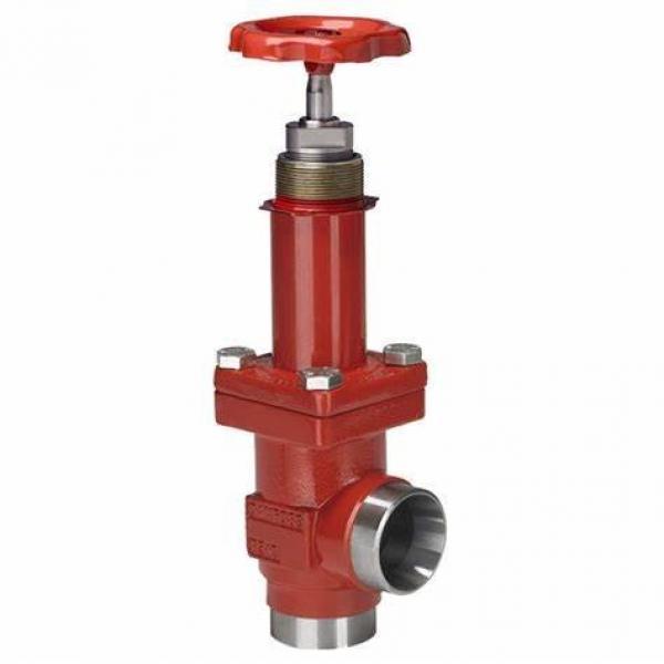 Danfoss Shut-off valves 148B4619 STC 125 A ANG  SHUT-OFF VALVE HANDWHEEL #1 image